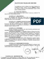 Acordo Coletivo 2003-2004
