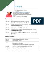 Currículum Vitae GMM