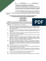 REGLAMENTO DEL SERVICIO INTERIOR DE LAS UNIDADES