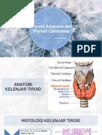 Adenoma Dan Karsinoma Tiroid