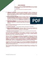 Juicio Ordinario Declarativo 2017