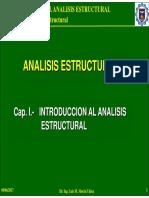 Cap. 1.2 - El Análisis y Diseno Estructural
