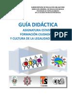 Guía Didáctica Formación Ciudadana