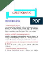 Preparatorio Penal-cuestionario Generalidades
