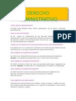 Cuestionario Numero 2 Derecho Administrativo