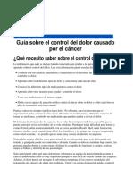 Medicacion Cancer
