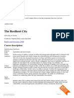 Study Resilent City