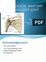 Radioanatomy of Shoulder Joint-Dr.naziya