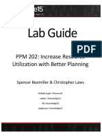 PPM Resource Lab Guide