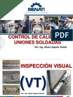 Inspección Visual de soldaduras