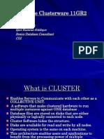Oracle Clusteware Presentation COUG