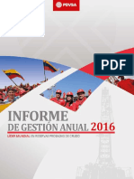 PDVSA Annual Report 2016