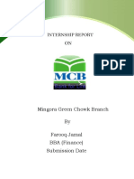 MCB financial report