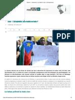 Racisme - L'Afrophobie, Une Réalité en Inde Africapostnews