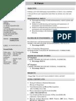 Varun Resume Instrumentation