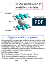 Organometallics introduction