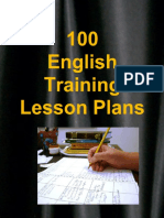 100 English Training Lesson Plans