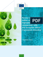 Report Review India-eu Water Legislation