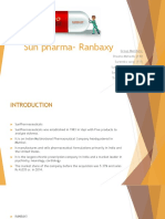 Sun Pharma- Ranbaxy Ppt 1