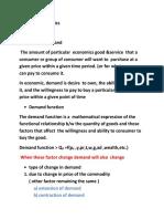 Notes on Economics