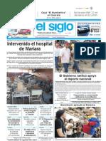 Diario el siglo - 12 de Agosto de 2010 - Maracay, Edo. Aragua.