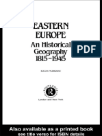 East Europe Geography 1815_1945