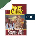 Janet Dailey Mandria Doamnei Wade