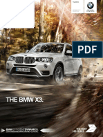 The BMW X3 Brochure August 2016 v2