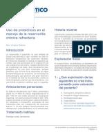 Probioticos Reservoritis Cronica Refractaria