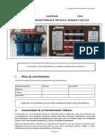 Practica1 Trafo Monofasico Bobinas y Nucleo