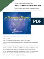 10 Diminished Patterns for Jazz Improvisation | jazzadvice