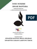 Buku Sukses Penegak Bantara