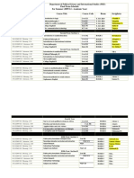 PSIS Final Exam Schedule-2009-Summer
