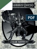 Booklet chaos warrior per whq