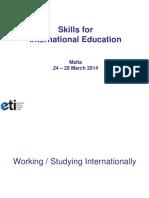 Intercultural Module Tertiary