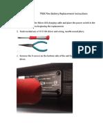 TREK Flex Battery Replacement Instructions