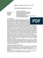 Regimen Disciplinario Ley Servir Peru Resoluciones Analizadas Por Separado
