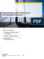 Drive Business and IT Value Across  All Deployment Scenarios