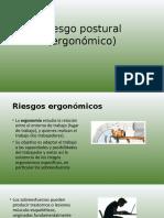Riesgo Postural (Ergonómico)