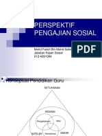 PERSPEKTIF PENGAJIAN SOSIAL