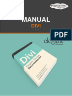 Manual DIVI ElegantThemes Wordpress
