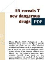 PDEA Reveals 7 New Dangerous Drugs