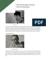 8 Tokoh Tokoh Pendiri Negara Indonesia
