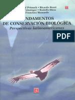 Fundamentos de Conservacion Bio - Richard Primack