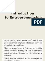 Chapter 1_Introduction to Entrepreneurship