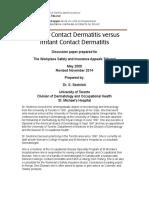 10. Allergic (Kriteria Dx Dki)