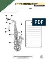 Parts of the Instrument - Alto Sax