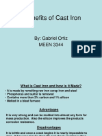 Application of Cast Iron