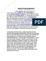 Essay on Photography
