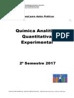 Apostila Quimica Analitica Quantitativa 2017